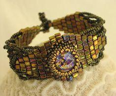 """Timeless Bracelet"" Contest  http://contest.bead-patterns.com/"