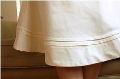 Tutorial: Use horizontal pleats to lengthen or shorten a skirt   Sewing   CraftGossip.com