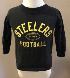 a6395a53346 Pittsburgh Steelers Size 3T T Shirt Tee NFL Girl Boy Unisex Reebok  Reebok   PittsburghSteelers
