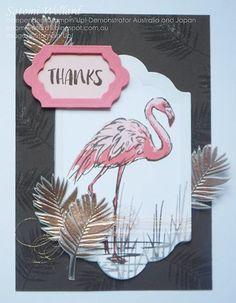 Satomi Wellard-Independent Stampin'Up! Fabulous Flamingo
