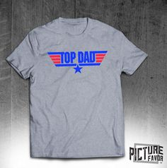 Top Dad T-shirt - Gift for Dad - Fathers Day Gift shirt-tee shirt   Printed with plastisol inks for long lasting wear.  100% preshrunk cotton; Sport Grey is 90/10  Seamless rib at neck, taped shoulder-to-shoulder. Double-needle stitching on sleeves and bottom hem  5.3 oz. T-Shirt  A size chart generally refers to the size you might want based on your actual body measurements. You should use this as a general guideline because you might want a tighter or looser fit. When in doubt or you f...