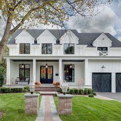 New house exterior design modern farmhouse plans ideas