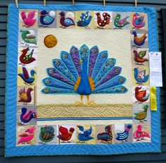 Who's the Fairest of Them All? by Kathy Davis of Poway CA (48″ square).  2015 Sisters Outdoor Quilt Show.  Photo by First Light Designs.