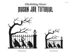 woodworking course Click image for larger version. Name: Mason-Jar-Stencil.jpg Views: 763 Size: KB ID: 8811 - Hitchhiking Ghosts Tutorial mason jar candle tutorial. Disney Halloween, Holidays Halloween, Halloween Crafts, Halloween Labels, Holiday Crafts, Holiday Ideas, Disney Font Free, Disney Diy, Disney Crafts