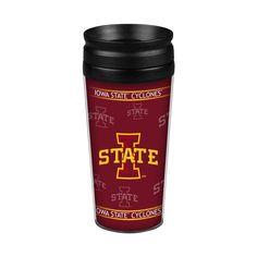 Iowa State Cyclones 14oz. Full Wrap Travel Mug