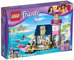 Lego Friends, Heartlake Lighthouse (41094) is the second largest set ...