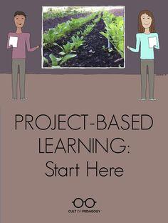 Project Based Learning: Start Here (Cult of Pedagogy) Problem Based Learning, Inquiry Based Learning, Project Based Learning, Learning Activities, Interactive Learning, Teaching Methods, Teaching Strategies, Teaching Ideas, Reggio