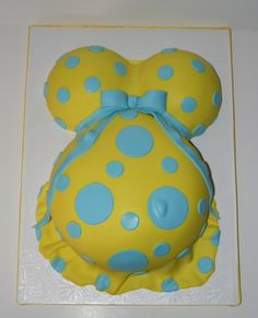 Belly Baby Shower cake