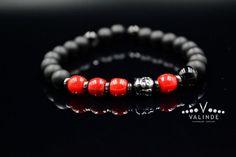 Red Coral Onyx Bracelet Buddha Bracelet Men's Stretch Crystal Bracelet Chakra Bracelet Yoga Bracelet Jewelry Gifts Stone Beads Bracelet Gemstone Bracelets, Handmade Bracelets, Bracelets For Men, Jewelry Bracelets, Yoga Bracelet, Chakra Bracelet, Agate Beads, Adjustable Bracelet, Red Coral