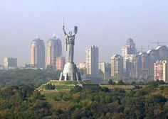 "Kiev, Ukraine "" the motherland"""