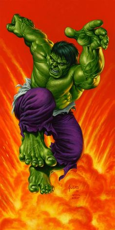 Hulk by Joe Jusko                                                                                                                                                                                 More