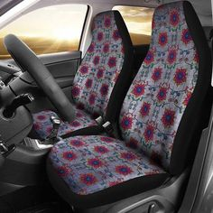 Car seat covers, car accessories for women, premium cars, boho grunge, car Cute Car Seat Covers, Car Seat Cover Sets, Car Covers, Jeep Renegade, Vw Beetles, Hot Wheels, Volkswagen, Hello Kitty, Interiors