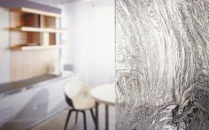 Patterned Glass - Cast from GGI