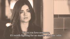 Favorite Pretty Little Liars quote ever!
