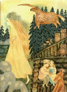 Painting by Vera Pavlova