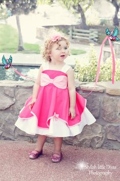 Cinderella inspired mice made pink costume by ThreeDutchDivas, $50.00