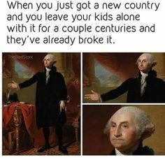 Papa Washington isn't happy with our bullsh**