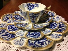 Foley Shelley Wileman teaset