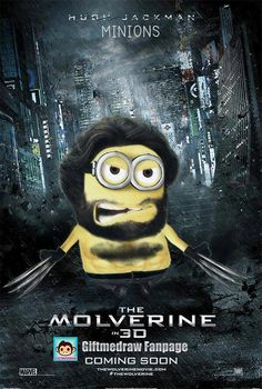 An I saw the new Wolverine movie and Despicable Me 2 at the same theater :)