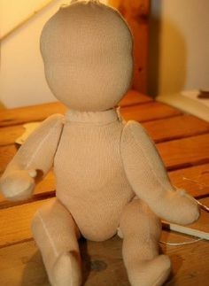 Waldorf doll tutorial - and free ebook - in English - La pappadolce Lapappadolce