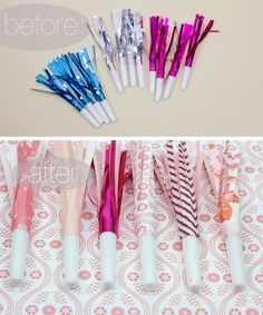 Ruffles And Stuff: DIY Party Blowers!