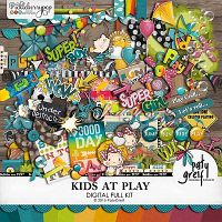 "Kids At Play ""Full Kit"" by Paty Greif"