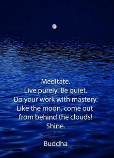 Meditate….