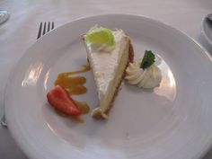 Key Lime Pie - just one of the yummy desserts on the Enchantment Of The Seas Cruise Ship Pictures, Enchantment Of The Seas, The Enchantments, Key Lime Pie, Delicious Desserts, Ethnic Recipes, Food, Essen, Meals