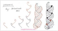 How to draw ORGANIC « TanglePatterns.com