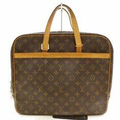 de36f1ec11 Louis Vuitton Porte Pegase Porte-documents 866459 Brown Monogram Canvas  Laptop Bag - Tradesy Canvas