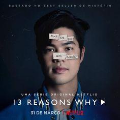 Thirteen Reasons Why, 13 Reasons, Movies Showing, Tv Series, Fandoms, Hollywood, Panda, Art, Challenges