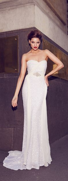 Gorgeous wedding dresses from the 2014 bridal collection of Aussie designer Karen Willis Holmes Bridal Gowns, Wedding Gowns, Karen Willis Holmes, Gorgeous Wedding Dress, Yes To The Dress, Wedding Gallery, Bridal Collection, Feminine, Elegant