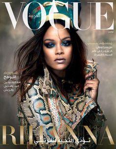 Rihanna x @VogueArabia