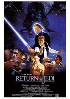 STAR WARS -  return  - Europosters