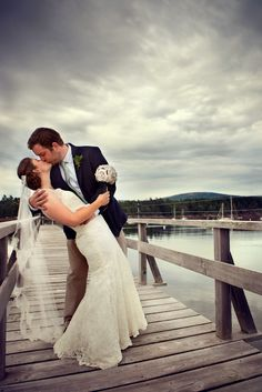 Photo on the pier  Linked Ring Weddings - Destination - Wedding - Engagement - Photos  #Weddings #BeachWeddings