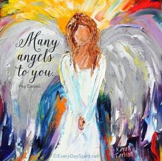 Many angels to you ~ #angels For the beautiful wallpapers ~ www.everydayspirit.net xo