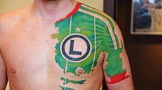 Eis a tatuagem sobre futebol mais sensacional que nós já vimos » Trivela