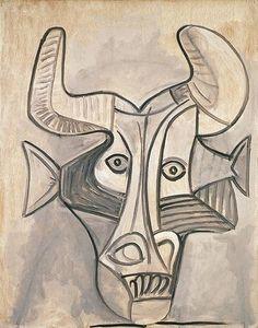 Pablo Picasso, 1958 Minotaure on ArtStack #pablo-picasso #art