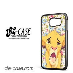 Simba Making Face DEAL-9603 Samsung Phonecase Cover For Samsung Galaxy S6 / S6 Edge / S6 Edge Plus
