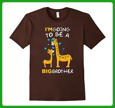 Mens I'm Going To Be A Big Brother T-Shirt Medium Brown - Relatives and family shirts (*Amazon Partner-Link)