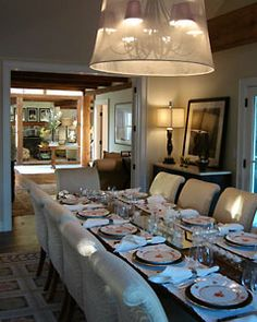 Home Decor Photos: Hamptons Dining Room  from The Nest