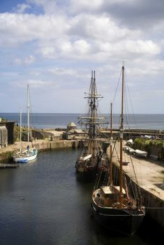 Charlestown, Cornwall, the scene of many a movie. Tall ships and stunning views. Charlestown Cornwall, New Television, Poldark, Filming Locations, Tall Ships, Stunning View, Hush Hush, Places To See, Britain