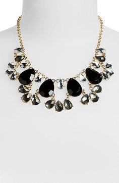 BP.+Teardrop+Fan+Statement+Necklace+(Juniors)+available+at+#Nordstrom