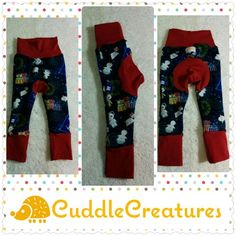 6-18 mos dr who grow with you pants, $25