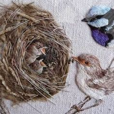 #handmade #handwork #needlework #bordado #broderie #ricamo #embroidery by Bev Tully