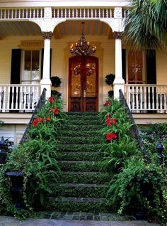 21 Ideas for Dream Garden -  ok really cool..but keeping up the vines across the stairs...
