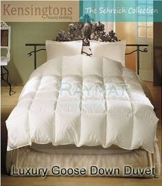 b)	I recently bought online a hungarian siberian goose down feather duvet from Raymat quilts and textiles and I am delighted by my purchase because not only is it 50% less than the RRP but received a free bed sheet and the shipping was also free. A usefull product