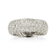 Mike, take note!!!!! - 2.85 carat pave eternity band