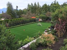 Backyard Soccer Field By Synthetic Turf Canada. Www.synthetic Turf.ca
