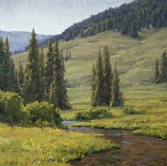 High Country Creek by Keith Bond Oil ~ 30 x 30